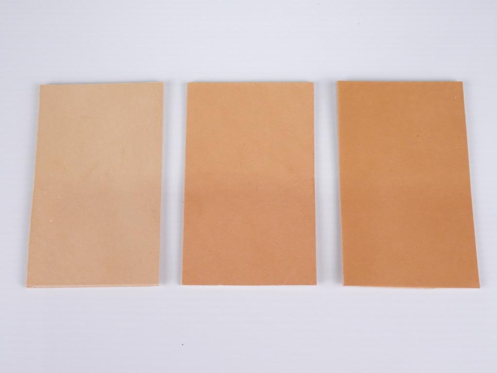 Evolutie kleur bij leder